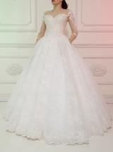 Свадебное платье Спс00484 прокат