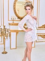 Будуарное платье кружево БХ1