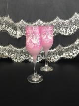 Бокалы розовые БокТ
