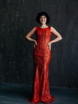 Вечернее платье ВПк42 прокат