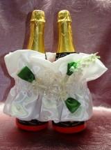 """Украшения на шампанское """"Кейт"""" с ландышами"""