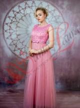 Вечернее платье Впк25 розовое